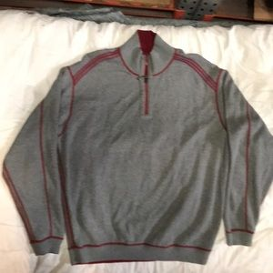 Tommy Bahama reversible wool sweater